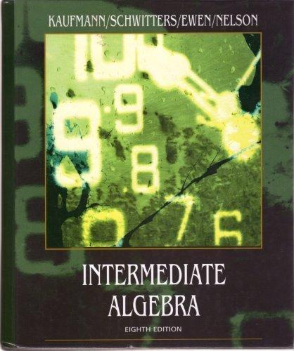9780495264248: Intermediate Algebra