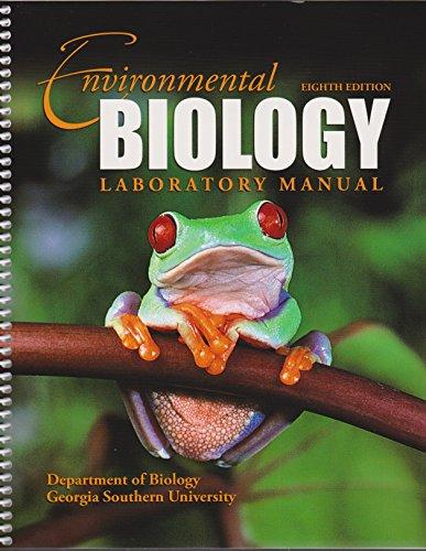 Environmental Biology Laboratory Manual 2007: Tomasso