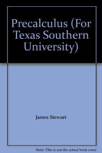 9780495280651: Precalculus (For Texas Southern University)
