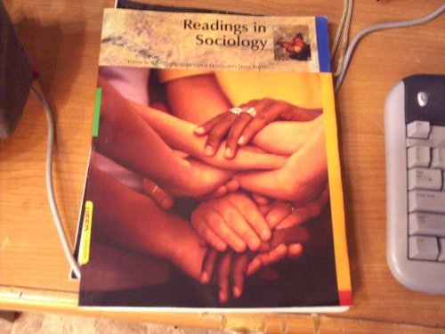 9780495290162: Readings in Sociology