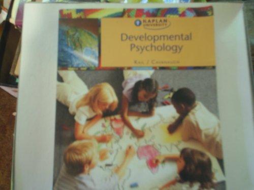 9780495290315: Developmental Psychology Kail/Cavanaugh
