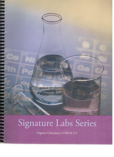 9780495292982: Signature Labs series Organic chemistry CHEM 211