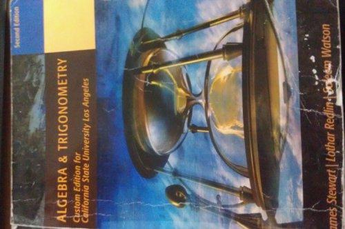9780495294597: ALGEBRA & TRIGONOMETRY Custom Edition for Cal State University Los Angeles