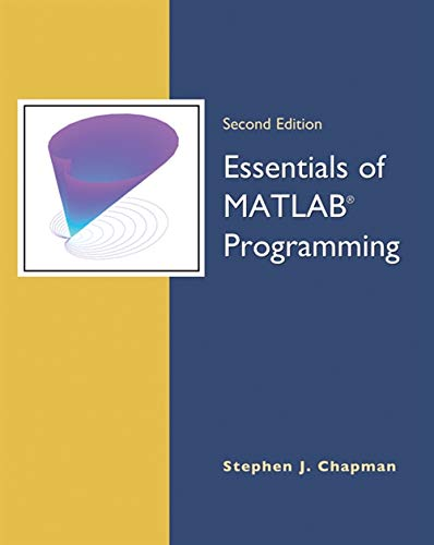 9780495295686: Essentials of MATLAB Programming