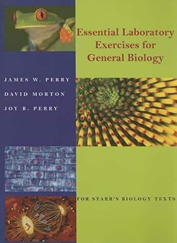 Custom POD: Preset Edition Essentials Laboratory Exercises: James W. Perry,