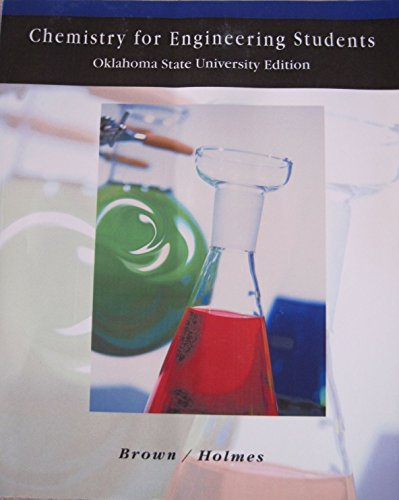 9780495314967: Chemistry for Engineering Students