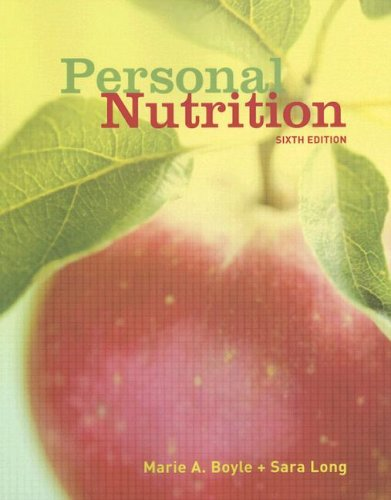 9780495317357: Personal Nutrition