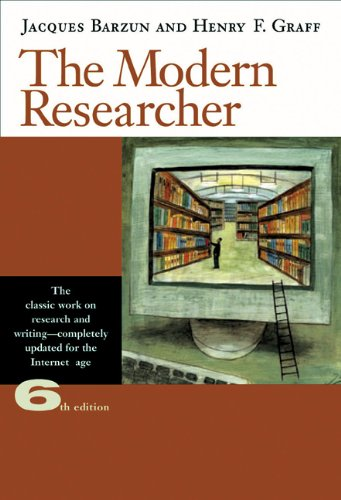 9780495318705: The Modern Researcher [With Infotrac]