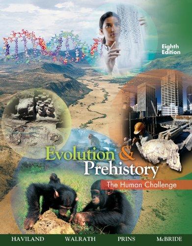 9780495381907: Evolution and Prehistory: The Human Challenge