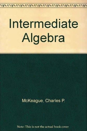 9780495382713: Intermediate Algebra