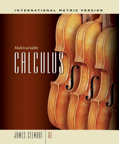 9780495383635: Multivariable Calculus, International Metric Edition