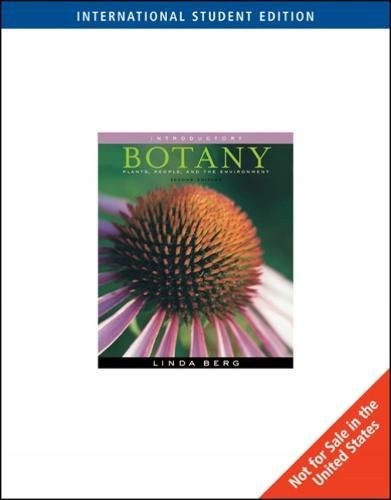 9780495383680: Introductory Botany-Plants, People and the Environment