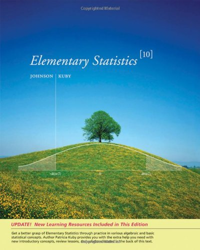 Elementary Statistics, Enhanced Review Edition (w/CD-ROM &: Robert R. Johnson,