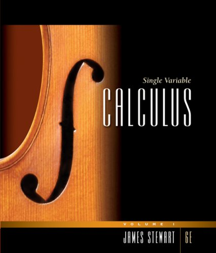 9780495384175: Single Variable Calculus, Volume 1