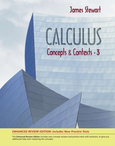 9780495384915: Calculus: Concepts and Contexts, Enhanced Review Edition (with CD-ROM, Tools, iLrn™ 2-Semester, Personal Tutor) (Available 2010 Titles Enhanced Web Assign)