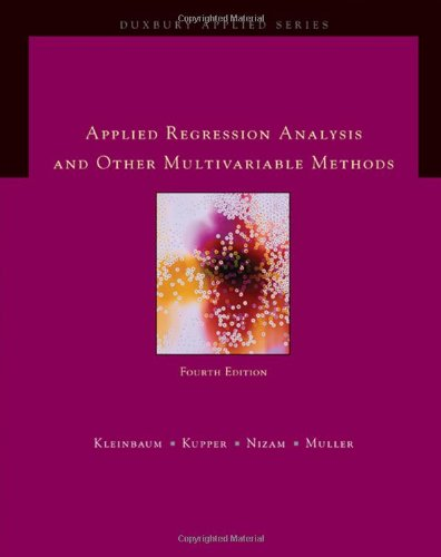 9780495384960: Applied Regression Analysis and Multivariable Methods