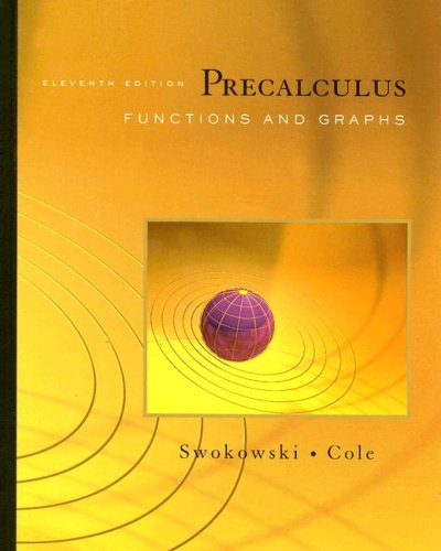 9780495385042: Precalculus: Functions and Graphs