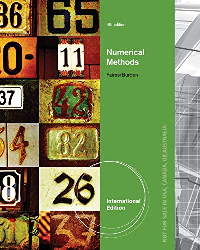 9780495385691: Numerical Methods