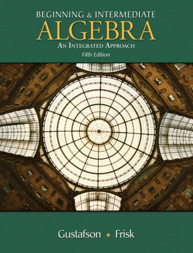 9780495386230: Beginning and Intermediate Algebra: Integrated Approach, Non-media Edition