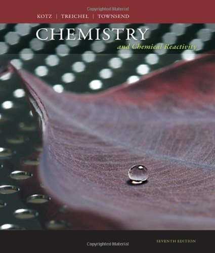 9780495387039: Chemistry and Chemical Reactivity (Available Titles OWL)
