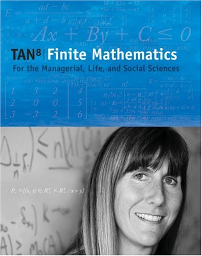 9780495387527: Finite Mathematics for the Managerial, Life, and Social Sciences, Enhanced Review Media Edition (with CD-ROM and CengageNOW, Personal Tutor Printed Access Card) (Available Titles CengageNOW)