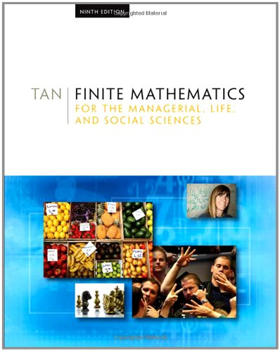 9780495387534: Finite Mathematics for the Managerial, Life, and Social Sciences