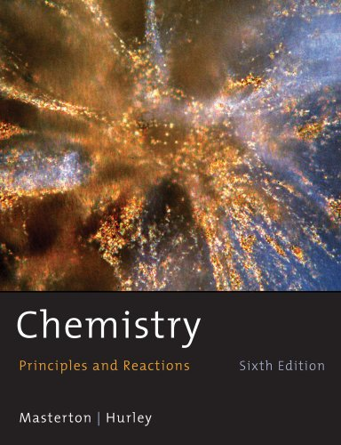 9780495387671: Student Solutions Manual for Masterton/Hurley's Chemistry: Principles and Reactions, 6th