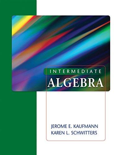 9780495387985: Intermediate Algebra (Available 2010 Titles Enhanced Web Assign)