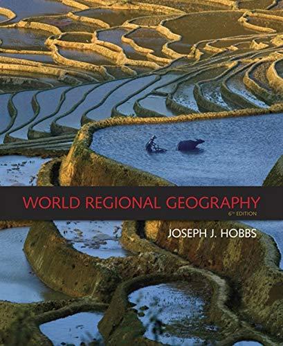 9780495389507: World Regional Geography