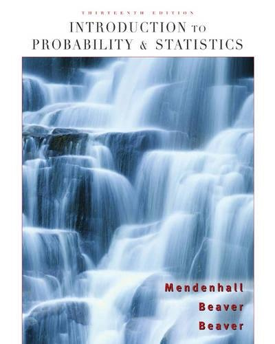 9780495389538: Introduction to Probability and Statistics (Available 2010 Titles Enhanced Web Assign)
