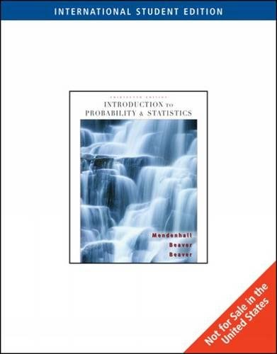 9780495389590: Introduction to Probability and Statistics (13 Th Edition)