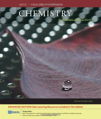 9780495390299: Chemistry and Chemical Reactivity (Available 2010 Titles Enhanced Web Assign)