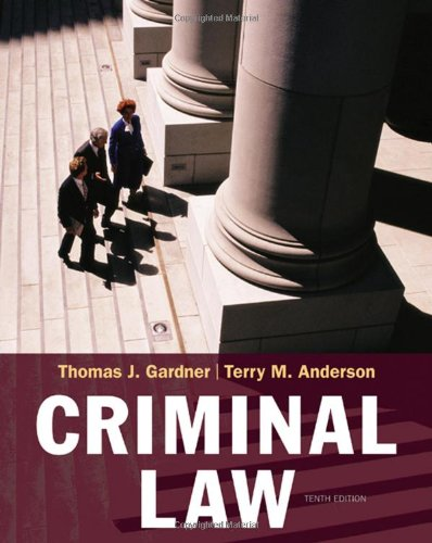 9780495390893: Criminal Law