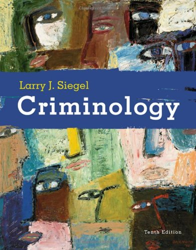 9780495391029: Criminology