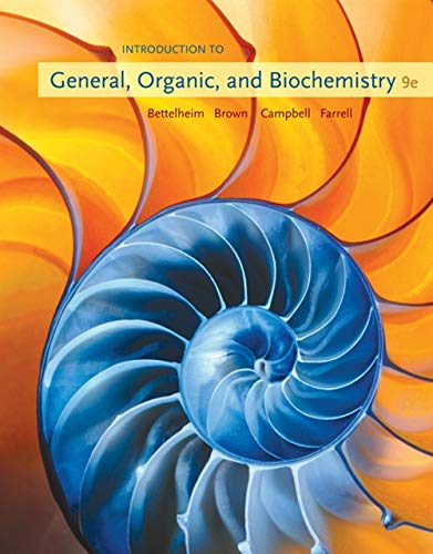 9780495391128: Introduction to General, Organic and Biochemistry (Available Titles Owl)