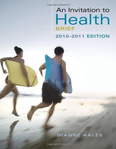 9780495391920: An Invitation to Health 2010-2011