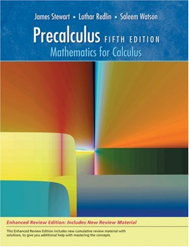 9780495392774: Precalculus: Mathematics for Calculus, Enhanced Review Edition