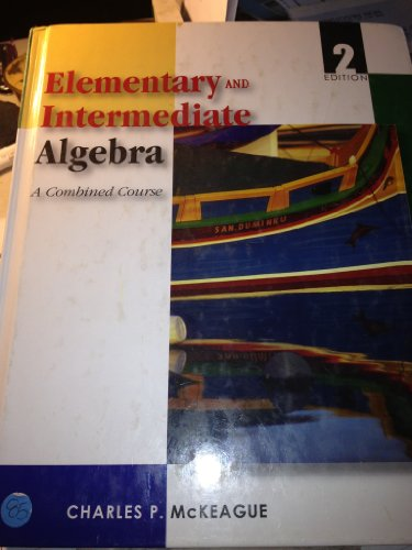 9780495392941: Elementary and Intermediate Algebra: A Combined Course
