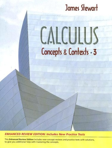9780495393368: Calculus: Concepts and Contexts, Enhanced Review Edition