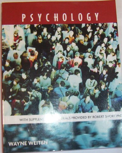 9780495396161: Psychology with supplemental materials provided by Robert Short Phd