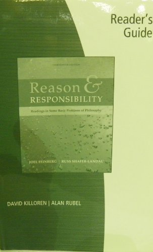 9780495410461: Reader's Guide for Feinberg/Shafer-Landau's Reason and Responsibility: Readings in Some Basic Problems of Philosophy, 13th