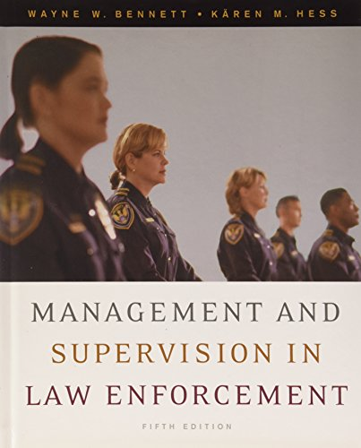 9780495427506: Management and Supervision in Law Enforcement