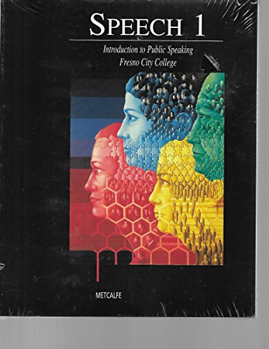 9780495428596: Speech 1 Introduction to Public Speaking Fresno City College