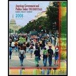American Government and Politics Today: The essentials: Bardes/Shelley Schmidt/Gerston Christensen