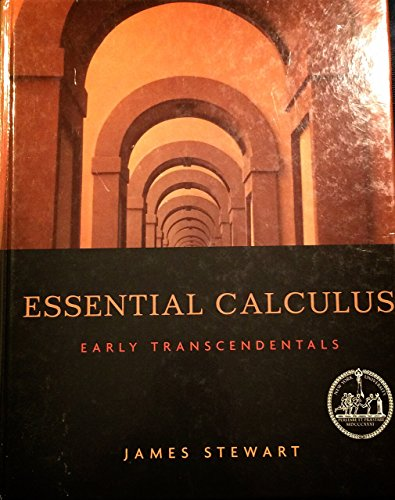 9780495430476: Essential Calculus: Early Transcendentals