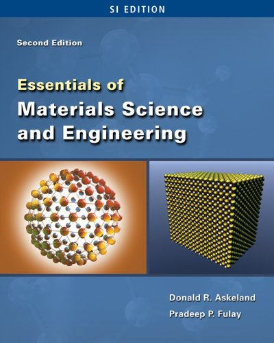 9780495438502: Essentials of Materials Science & Engineering - SI Version