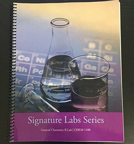 9780495445746: Signature Labs Series (General Chemistry II Lab)