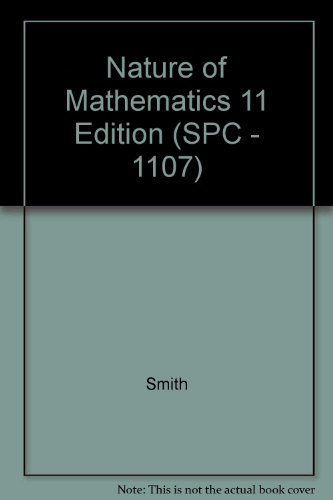 9780495451846: Nature of Mathematics 11 Edition (SPC - 1107)