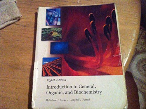 9780495463818: Introduction to General, Organic, and Biochemistry, 8th Edition