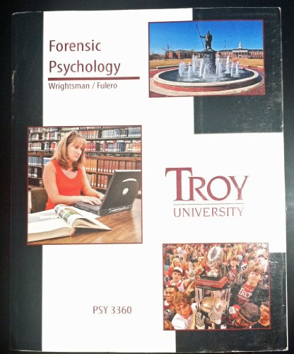9780495467090: Forensic Psychology